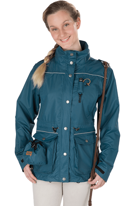 Damen Übergangsjacke VILLIE in aquamarin