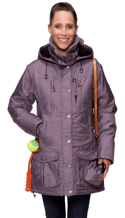 Damen Winterjacke LILLEBY in malve