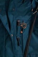 Damen Winterjacke LILLEBY in aquamarin