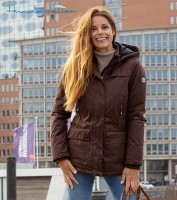 Damen Winterjacke LIMA in mokka